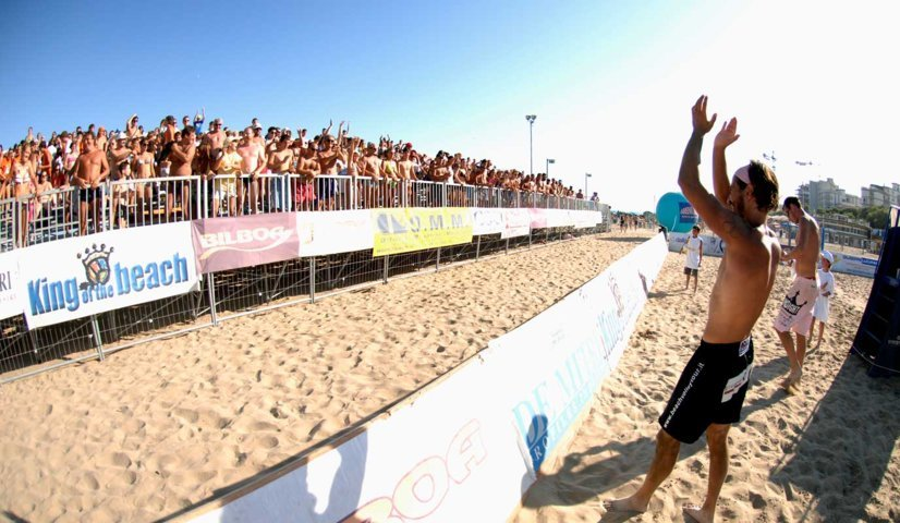 King of the beach 2009: grandi sponsor, grandi giocatori