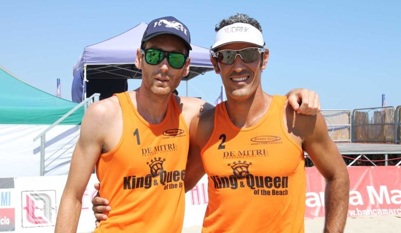 King of the beach 2012: la spiaggia delle corone