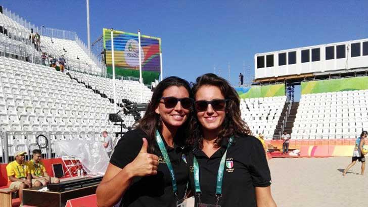 Rio 2016: Laura Giombini sarà la compagna di Marta Menegatti