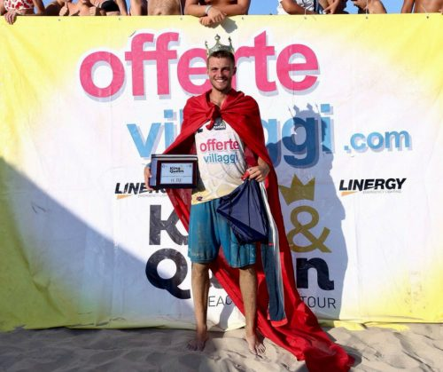Michele Crusca vince il King of the Beach 2018 Offertevillaggi.com