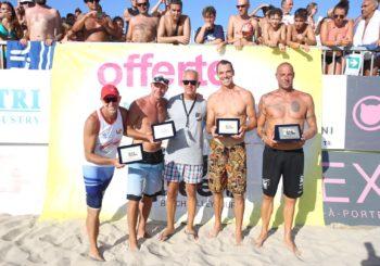 Alla IPLEX beach arena con i campioni del passato