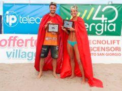 Davide Benzi e Michela Lantignotti sono il King & Queen beach volley tour 2020