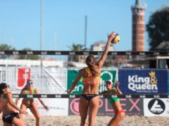 Prima giornata di spettacolo all'Energia 4.0 King & Queen beach volley tour a Civitanova Marche