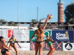 Prima giornata di spettacolo all'Energia 4.0 King & Queen beach volley tour a Civitanova Marche